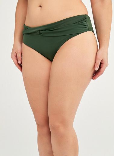 Penti Koyu Yeşil Basic Twist Bikini Altı Yeşil